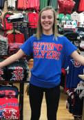 Dayton Flyers Blue Slogan Tee