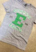 Eastern Michigan Eagles Grey Throwback Tee