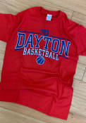 Dayton Flyers Red Linked Tee