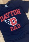 Dayton Flyers Navy Blue Dad Tee