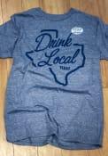 Texas Grey Drink Local Short Sleeve T Shirt