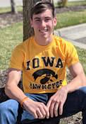 Iowa Hawkeyes Gold No1 Tee