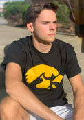 Iowa Hawkeyes Black Big Logo Tee