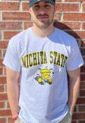 Wichita State Shockers Grey Mascot Tee Tee
