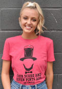Americana Red Abe Lincoln For Score Short Sleeve T Shirt