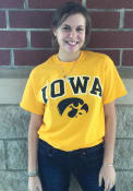 Iowa Hawkeyes Gold Arch Tee