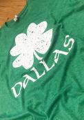 Dallas Green Splatter Shamrock Short Sleeve T Shirt