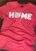 Ohio Red Home Short Sleeve T Shirt