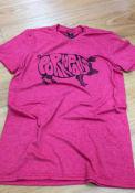 Cincinnati Heather Red Porkopolis Short Sleeve T Shirt