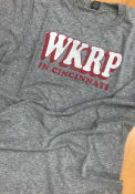 Cincinnati Grey WKRP Short Sleeve T Shirt