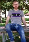 Manhattan Grey MHK Block Short Sleeve T Shirt