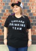 Chicago Drinking Team Black Short Sleeve T Shirt