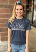 Cleveland Navy Skyline Short Sleeve T Shirt
