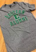 Eastern Michigan Eagles Heathered Alumni Fashion T Shirt - Grey