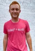 Cincinnati Red Equation Short Sleeve T Shirt
