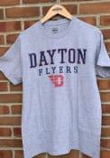 Dayton Flyers Worn Out T Shirt - Grey