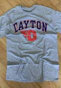 Dayton Flyers Arch Logo T Shirt - Grey