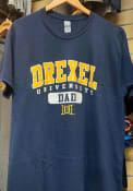 Drexel Dragons Dad Graphic T Shirt - Navy Blue
