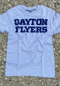 Dayton Flyers Rally Loud T Shirt - Grey