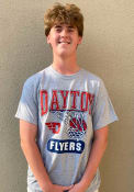 Dayton Flyers All Conference T Shirt - Grey