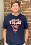 Dayton Flyers Upscale T Shirt - Navy Blue