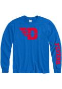 Dayton Flyers Logo T Shirt - Blue
