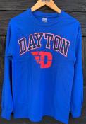Dayton Flyers Arch Logo T Shirt - Blue