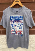 St Louis Stars Rally Poster Inspired Fashion T Shirt - Grey