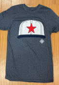 Detroit Stars Rally Cap Fashion T Shirt - Navy Blue