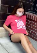St. Joe Heather Red State Shape Short Sleeve T-Shirt