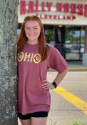 Ohio Women's Brick Floral Comfort Colors Unisex Short Sleeve T-Shirt