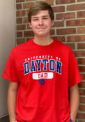 Dayton Flyers Dad T Shirt - Red