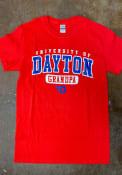 Dayton Flyers Grandpa T Shirt - Red