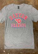Dayton Flyers Shadow Arc Grandpa T Shirt - Grey
