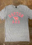Dayton Flyers Shadow Arc Dad T Shirt - Grey