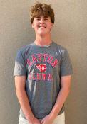 Dayton Flyers Shadow Arc Alumni T Shirt - Grey