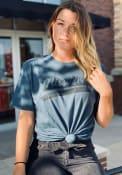 Missouri Slate Blue Peace Sign Short Sleeve T-Shirt