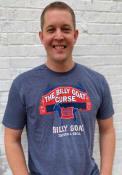 Billy Goat Tavern & Grill Heather Navy Curse Short Sleeve T-Shirt