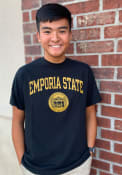 Emporia State Hornets Rally Seal T Shirt - Black