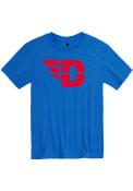 Dayton Flyers Rally Team Logo T Shirt - Blue