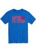 Dayton Flyers Rally Slogan T Shirt - Blue