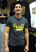Missouri Western Griffons Rally Ringspun Team Logo T Shirt - Charcoal