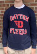 Dayton Flyers Rally Number One T Shirt - Navy Blue