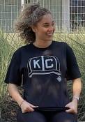 Kansas City Monarchs Rally KC Hat Fashion T Shirt - Black