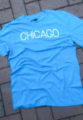 Chicago Rally Disconnected Fashion T Shirt - Blue