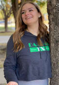 Dallas Women's Retro Black Long Sleeve Lightweight Hood