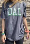 Dallas Heather Dark Grey DAL Block Short Sleeve T-Shirt