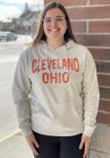 Cleveland Arch Hooded Sweatshirt - Oatmeal