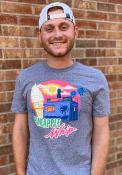 Pineapple Whip Graphite Truck Silhouette Short Sleeve T-Shirt