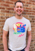 Pineapple Whip Putty Snow Heather Truck Silhouette Short Sleeve T-Shirt